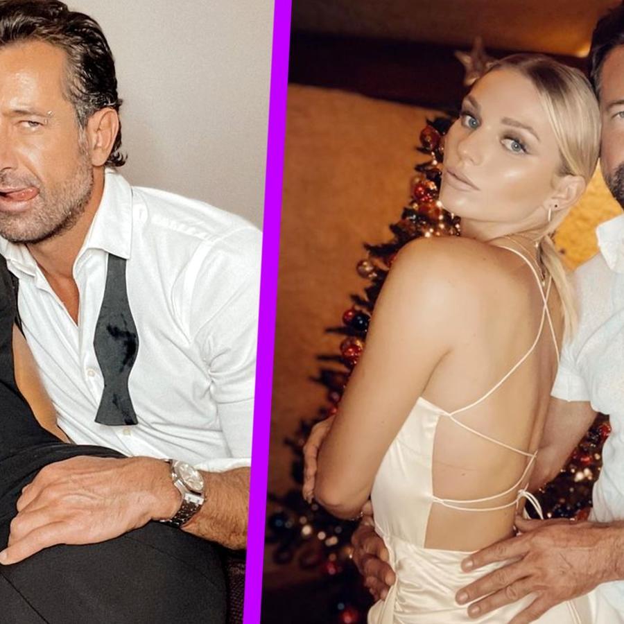 Gabriel Soto presume el anillo de compromiso que le dio a Irina Baeva