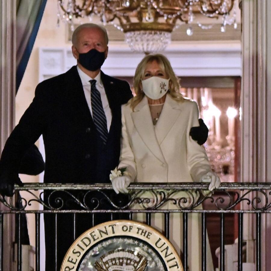 Joe Biden y la primera dama Jill Biden