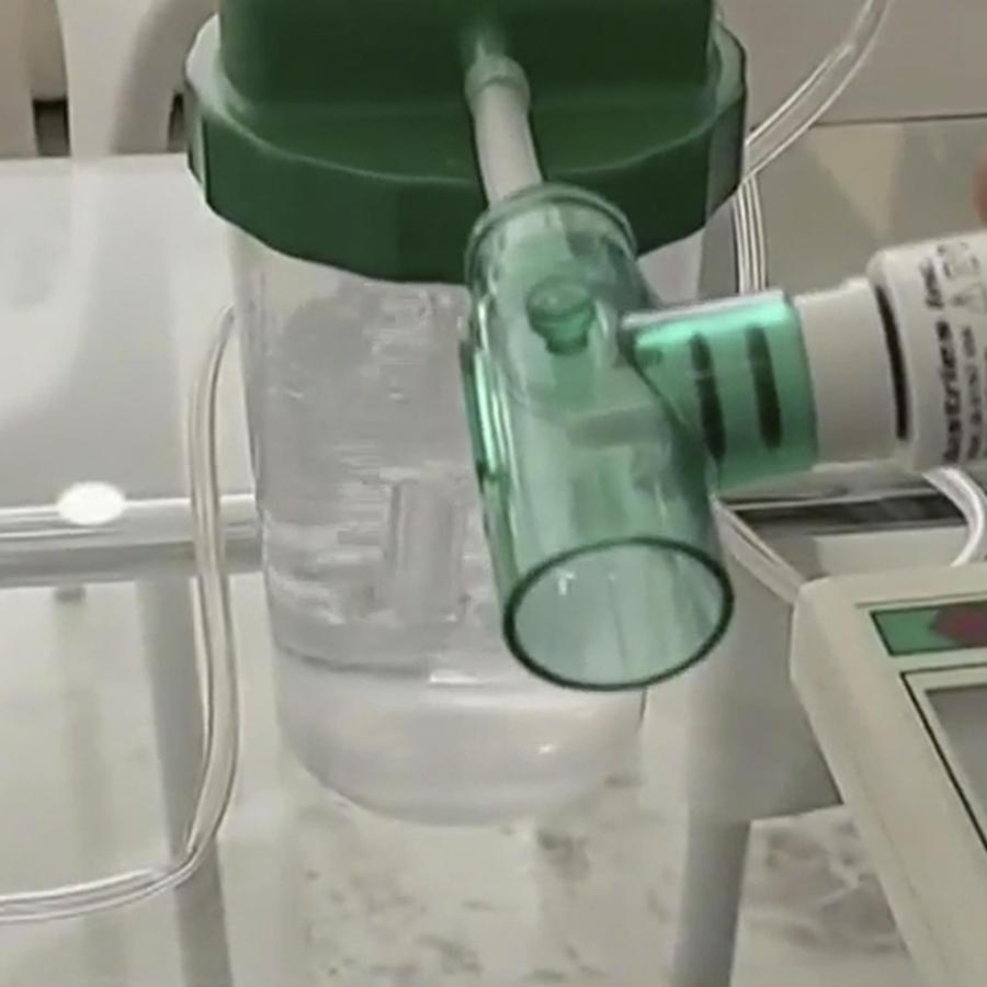 Oxigenador casero