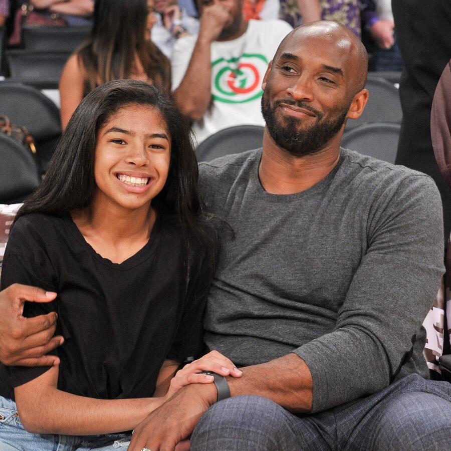 Kobe Bryant, Vanessa Bryant y Gianna