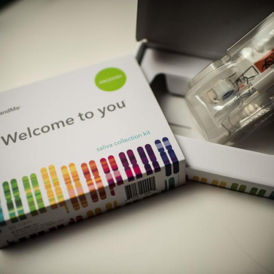 Kit de recolección de saliva para pruebas de ADN