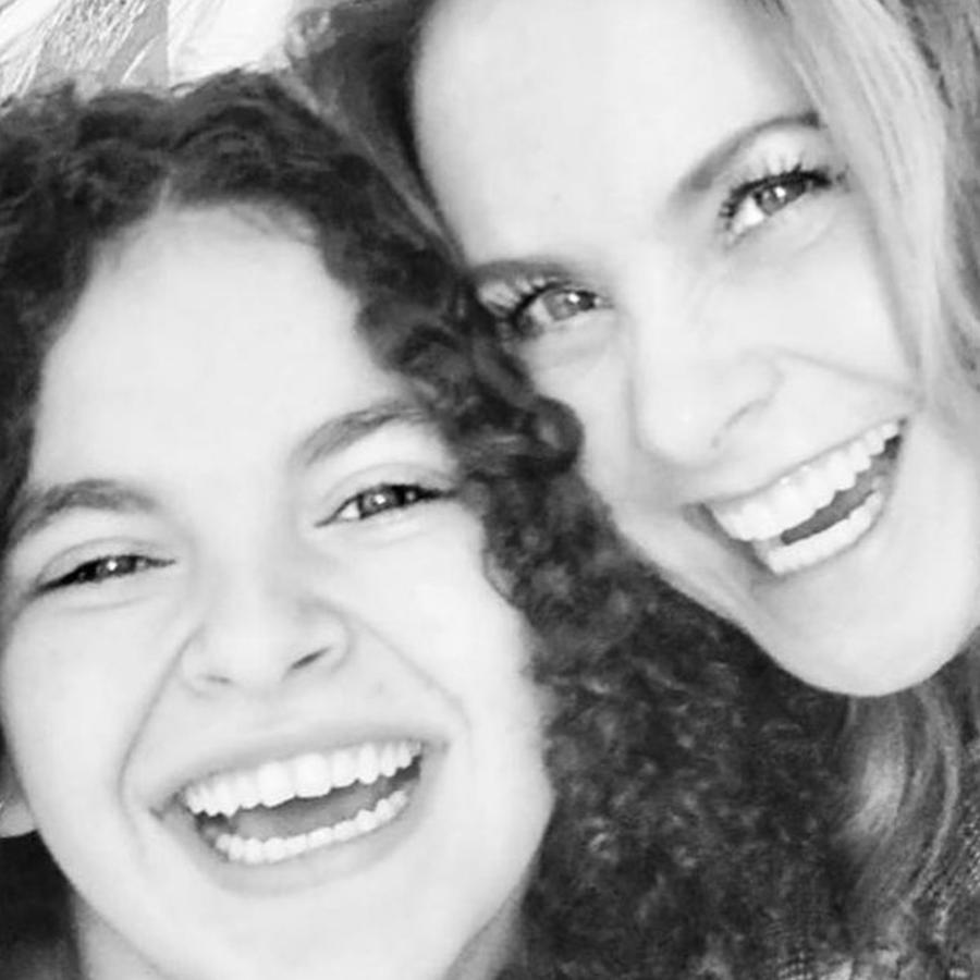 Lucero y su hija