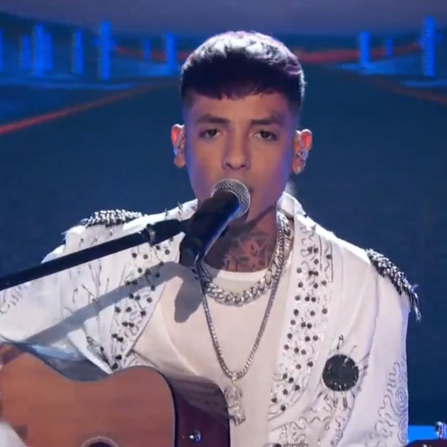 Natanael Cano en Latin American Music Awards 2021