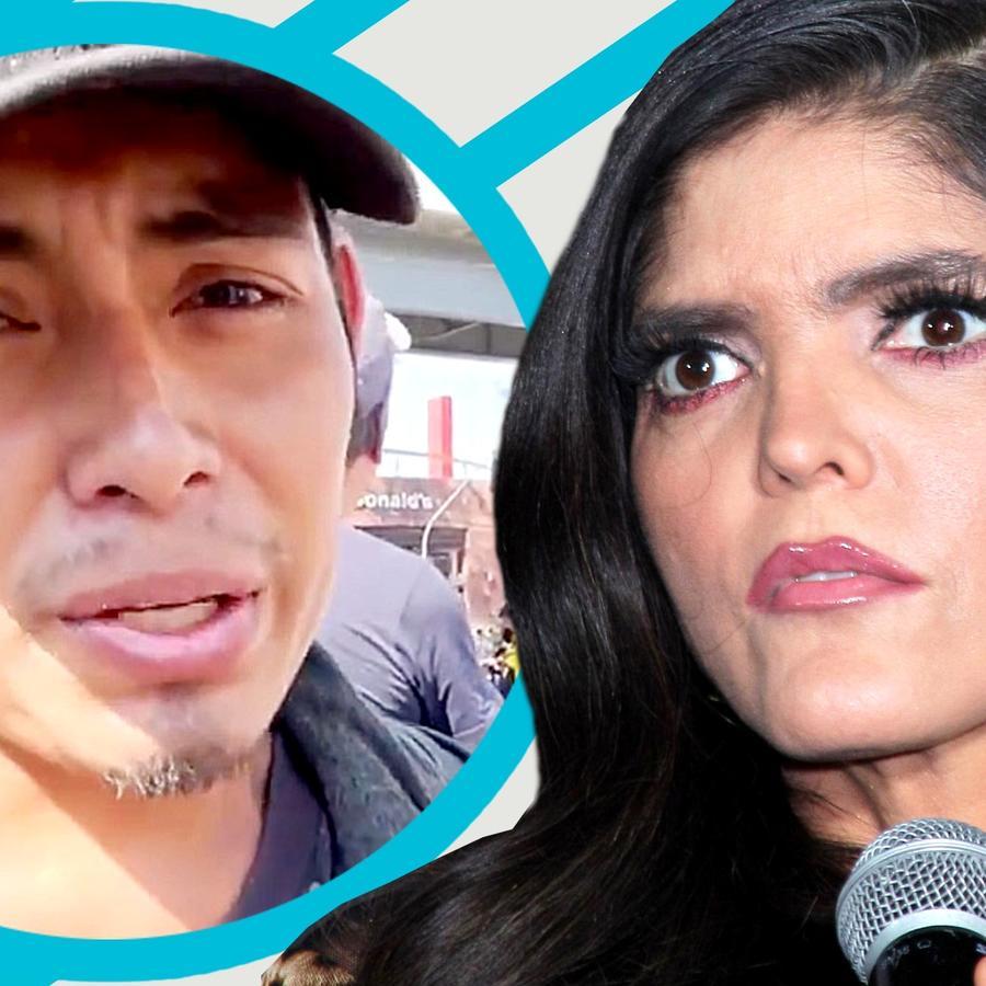 Ana Bárbara y la insospechada relación con un sobreviviente del colapso del metro