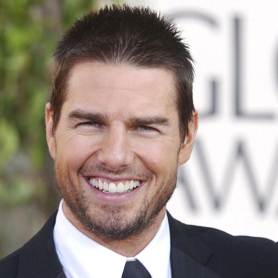 Tom Cruise en los Golden Globes.