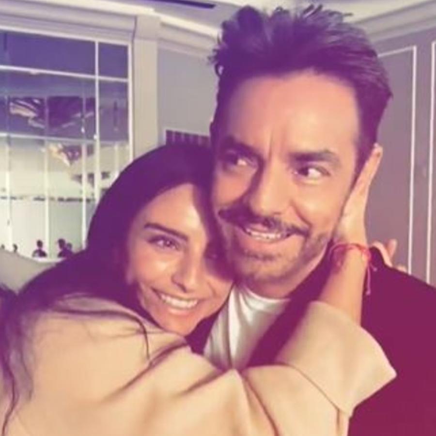 Eugenio Derbez  con su hija Aislinn Derbez