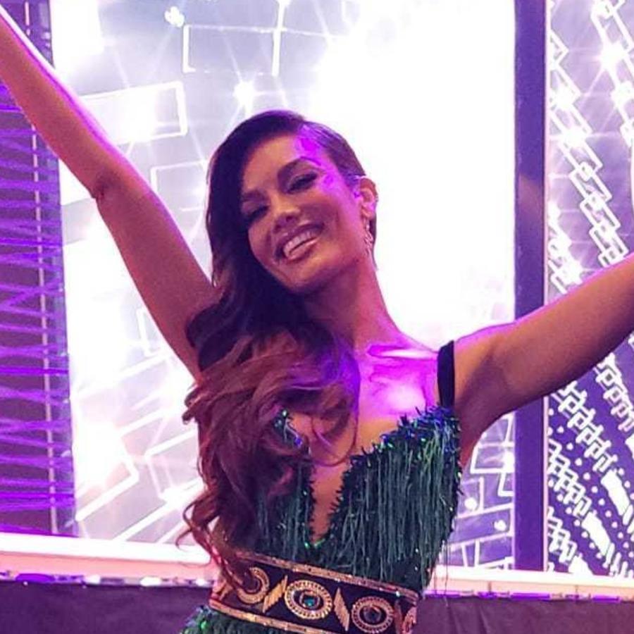 Zuleyka Rivera en la competencia preliminar de Miss Universo 2021, 69na. edición