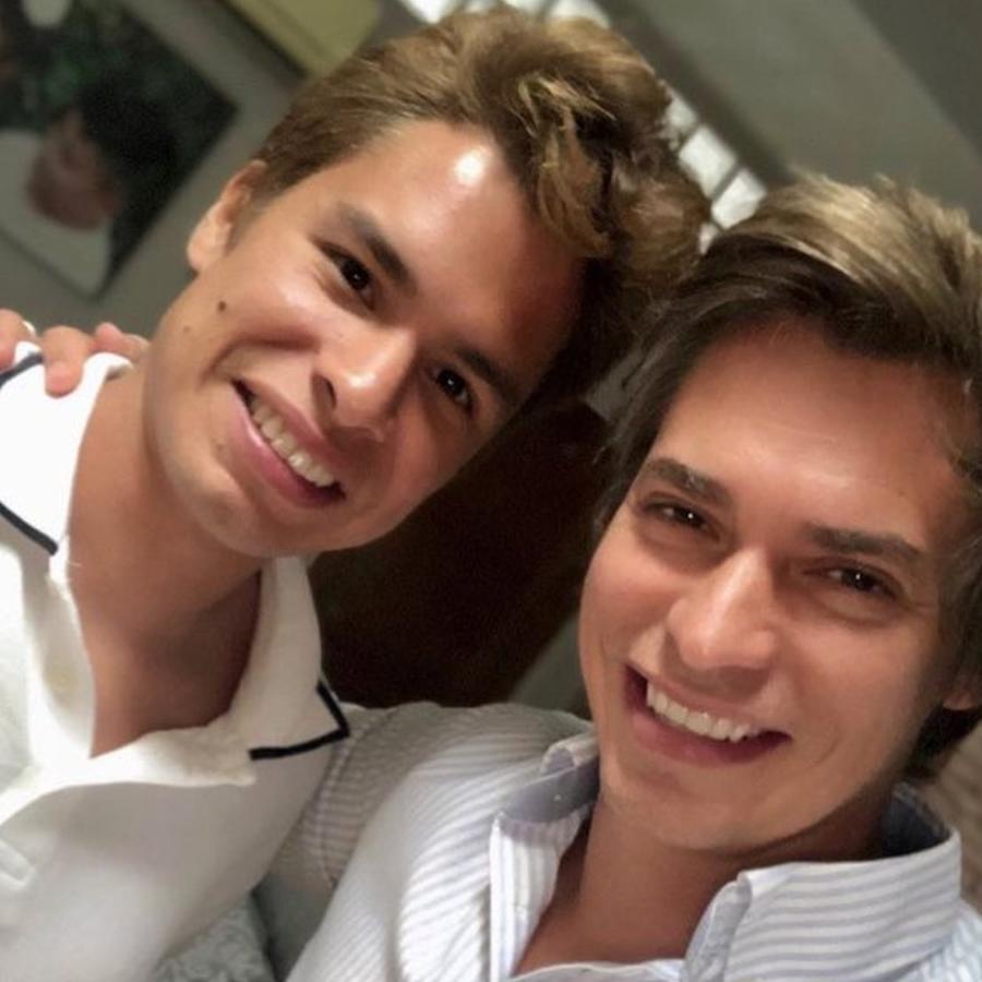 Carlos Baute y su hijo José Daniel