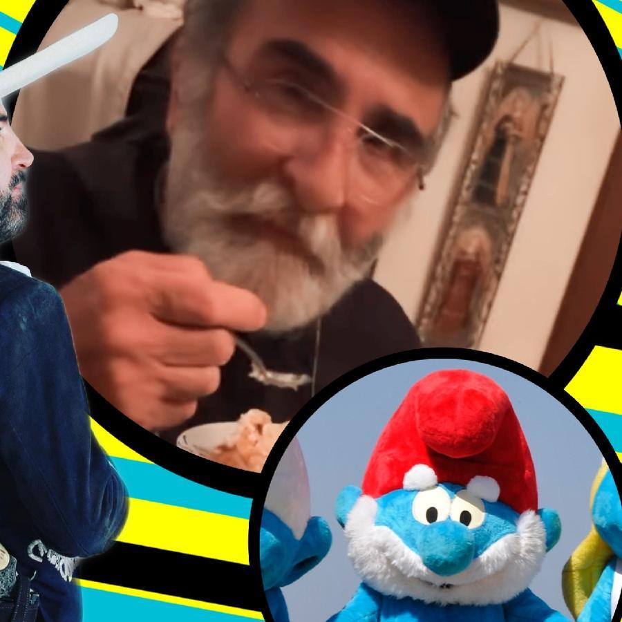 "Vicente Fernández Jr reaparece tras misterio y dicen que parece ""Papá Pitufo"""