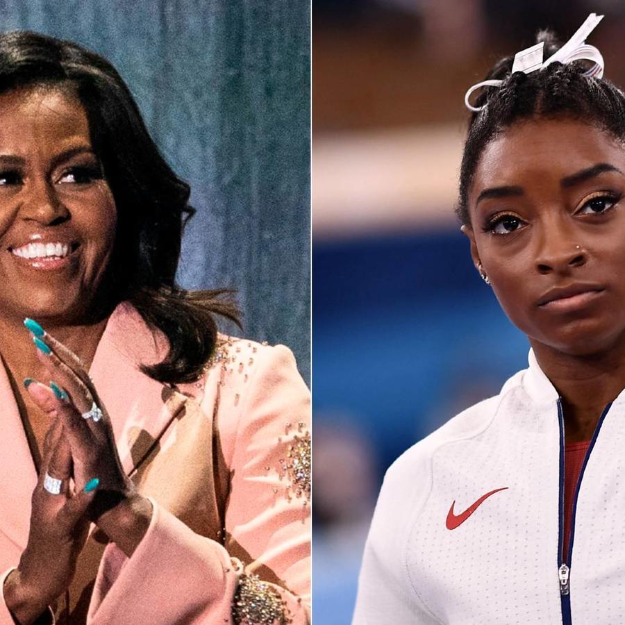 Michelle Obama; Simone Biles