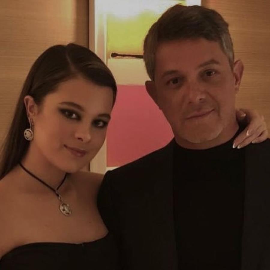 Alejandro Sanz y Manuela