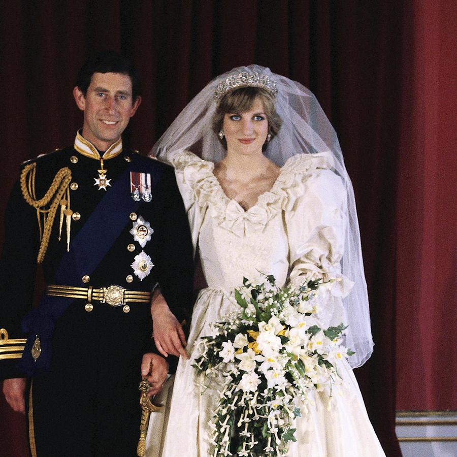 Aniversario boda princesa Diana y príncipe Charles.