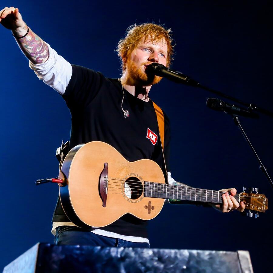 Ed Sheeran to headline NFL's kickoff concert next month
