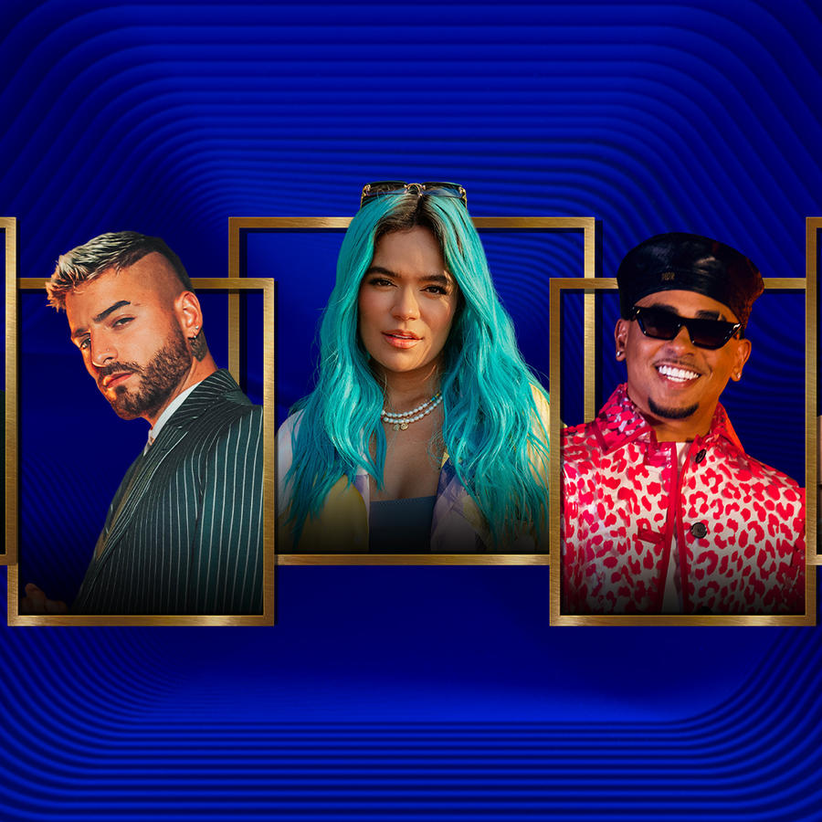 J Balvin, Maluma, Karol G, Ozuna, Bad Bunny - Finalistas de los Premios Billboard 2021
