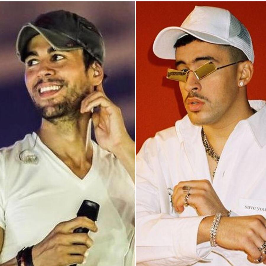 Myke Towers, Enrique Iglesias y Bad Bunny