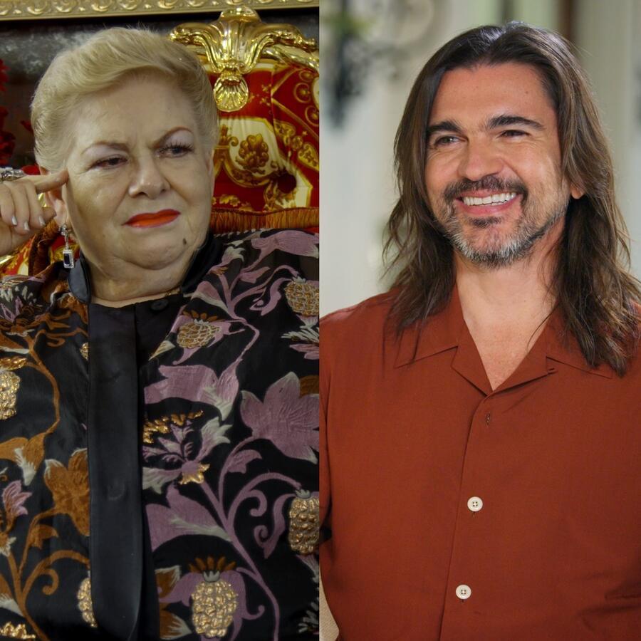 Paquita la del Barrio, Juanes y Camila Cabello en Detrás de la Fama