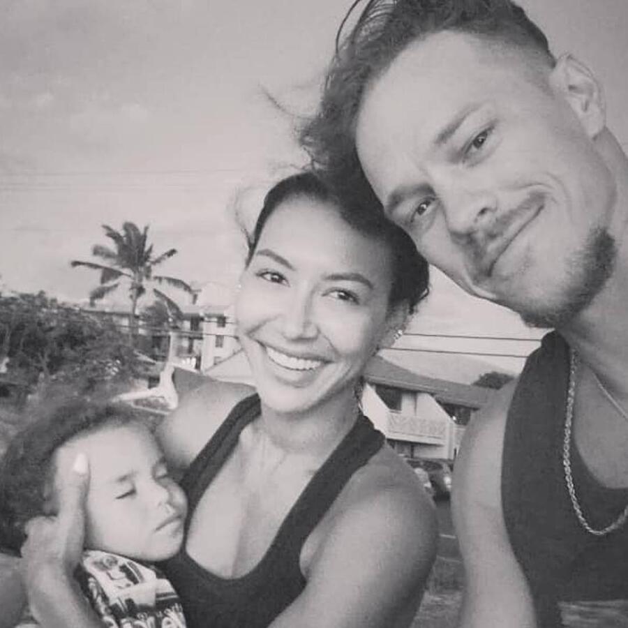 Naya Rivera con Ryan Dorsey y su hijo Josey