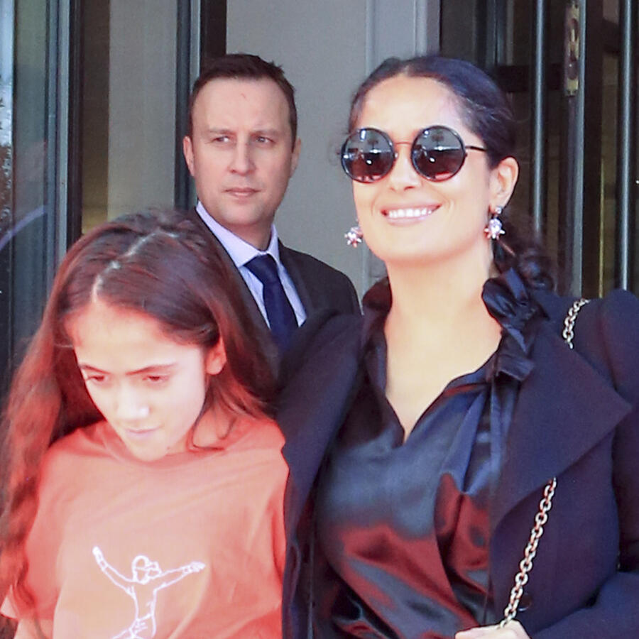 Salma Hayek con su hija Valentina Paloma Pinault.