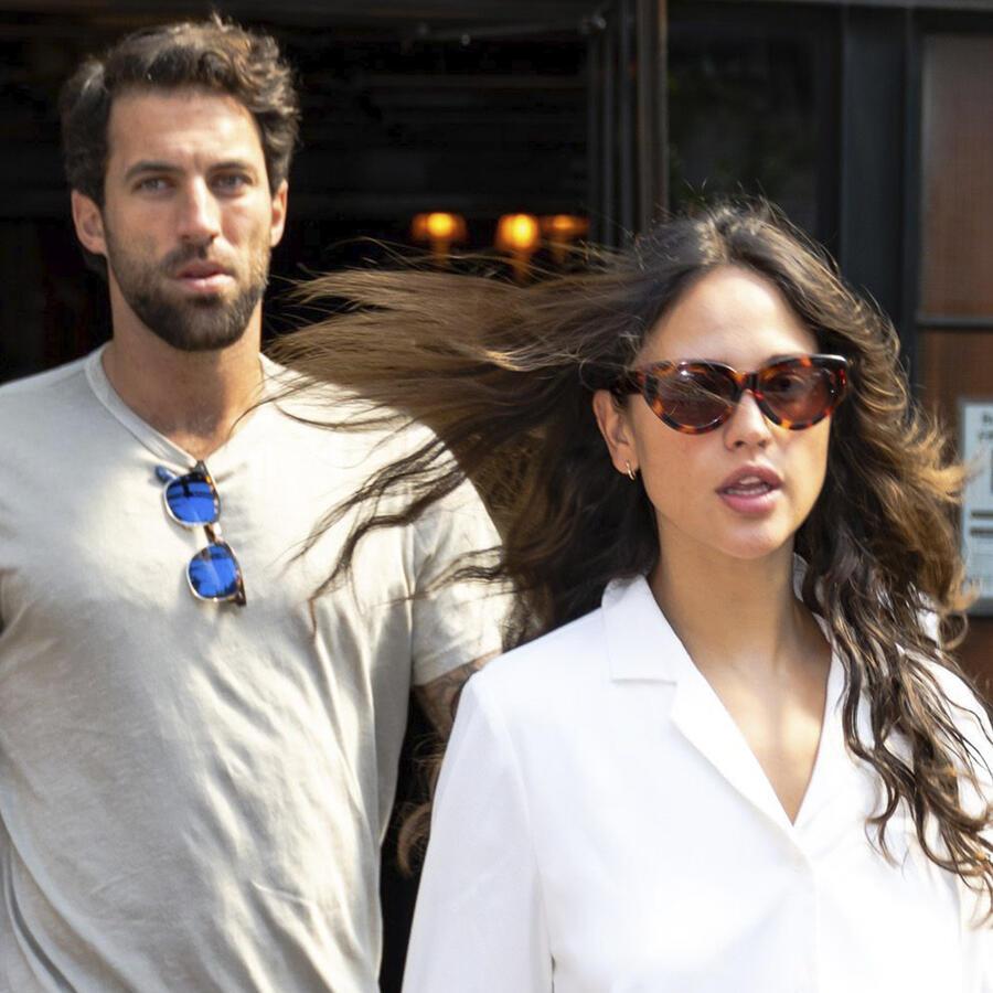 Eiza González y Paul Rabil, su novio.