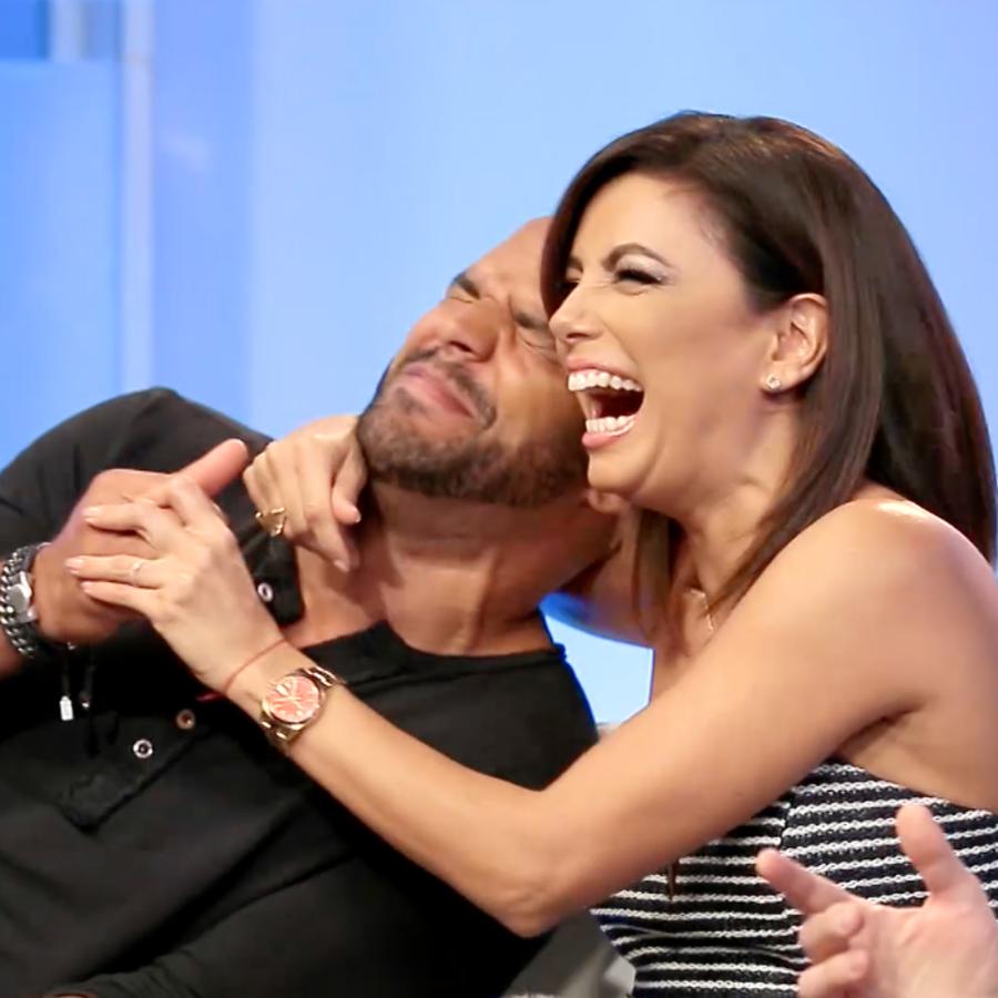 Amaury Nolasco y Eva Longoria de Telenovela
