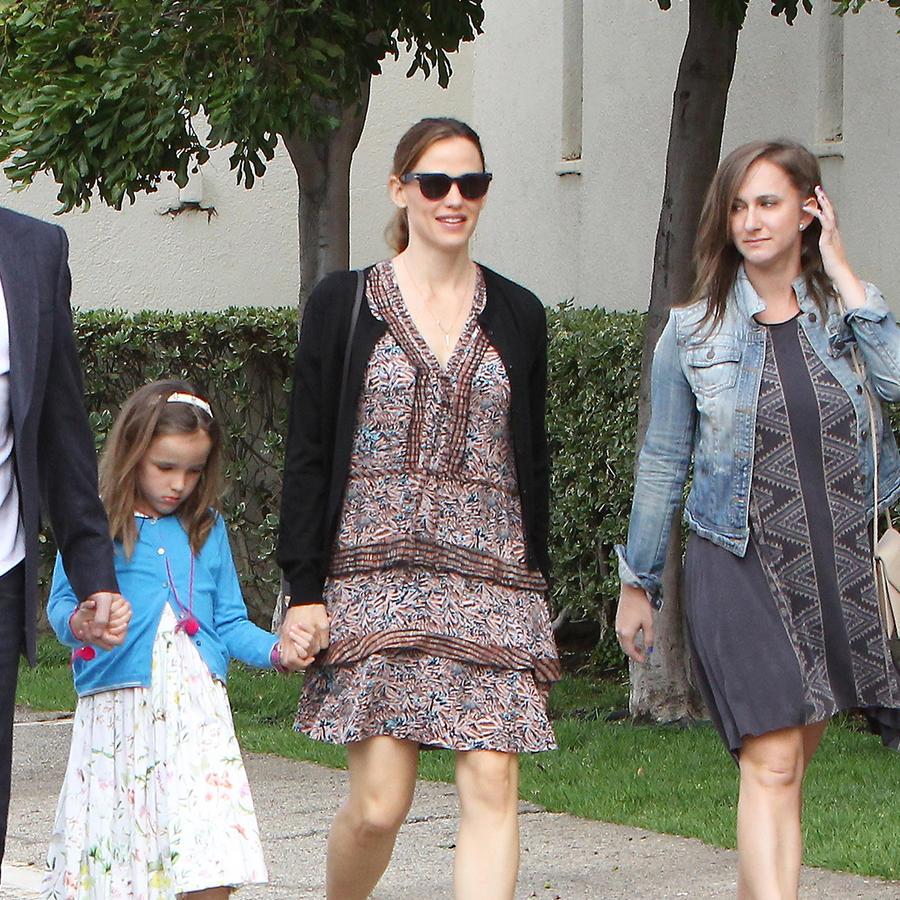 Ben Affleck, Jennifer Garner y sus hijos.