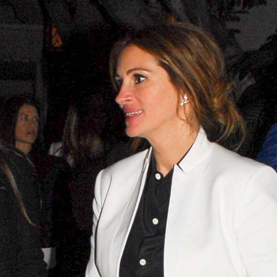 Julia Roberts descalza en Los Ángeles