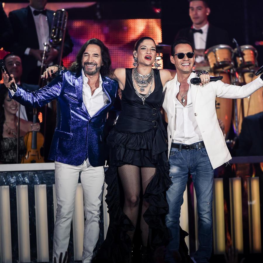 Marco Antonio Solís  Natalia Jiménez Marc Anthony Premios Billboard 2016