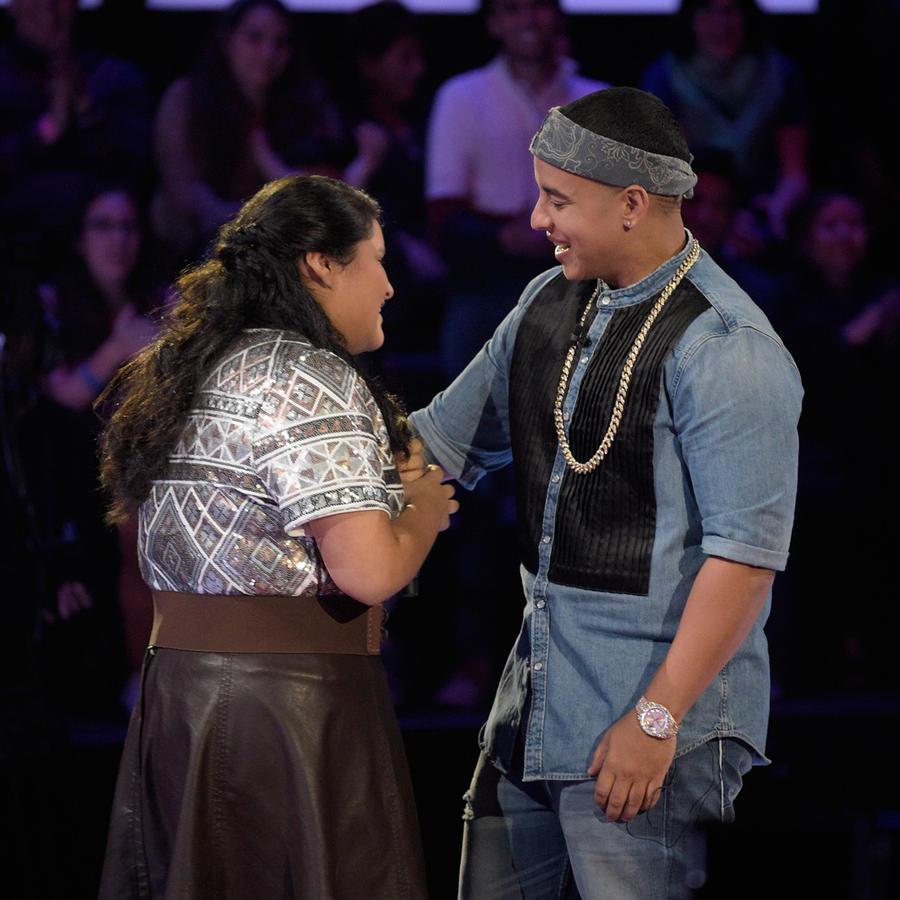 Francheska Daddy Yankee audiciones a ciegas La Voz Kids 2016
