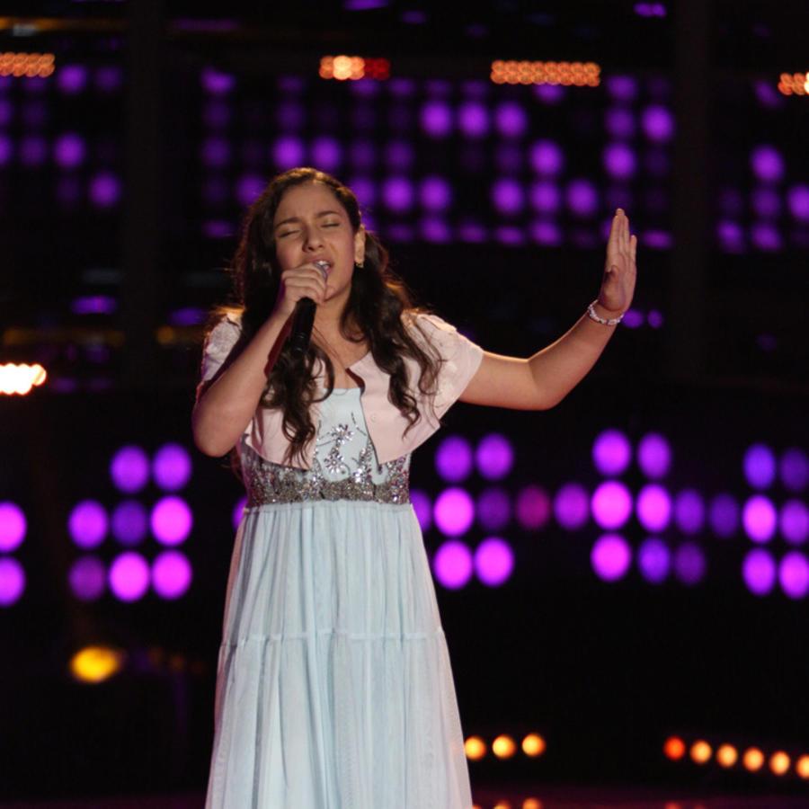 Ruth Audiciones a Ciegas La Voz Kids 2016