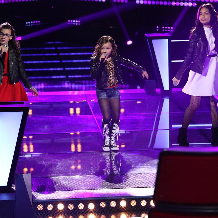 Sammy Blue Alejandra Alaia en la segunda ronda de batallas de La Voz Kids