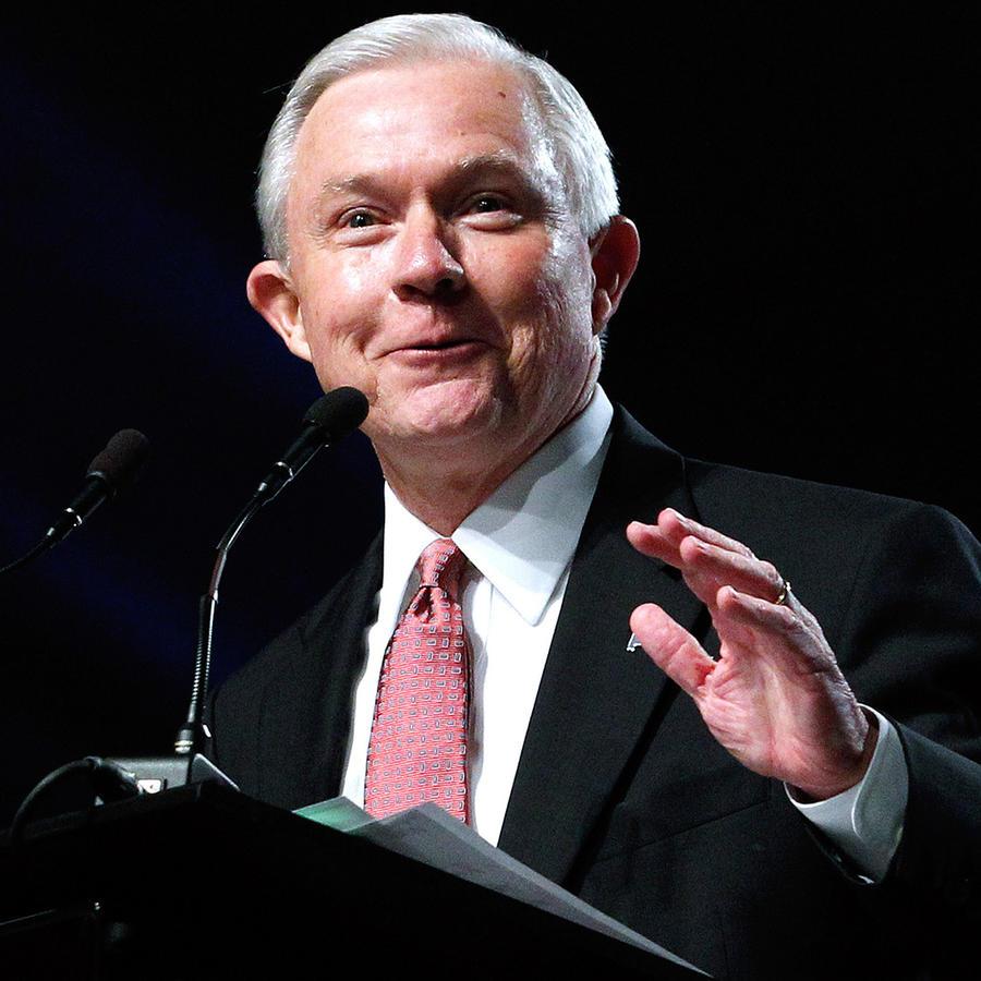 Foto de archivo del fiscal general de EEUU, Jeff Sessions.