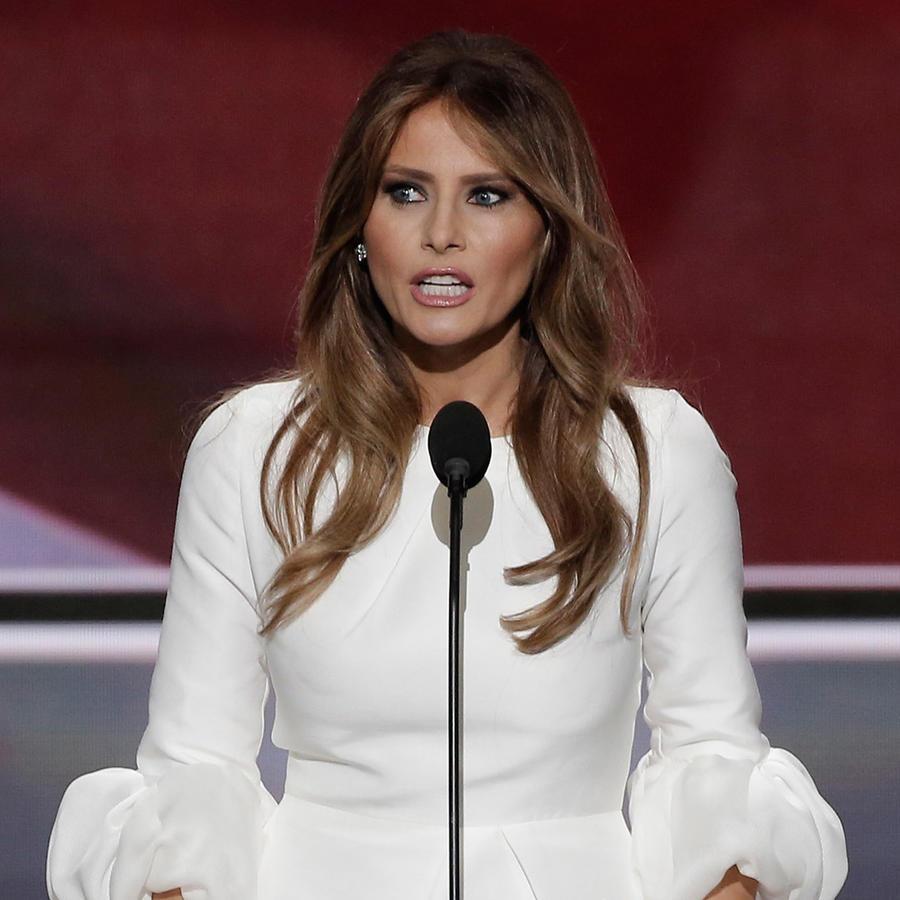 ¿Melania Trump copió el discurso de Michelle Obama?