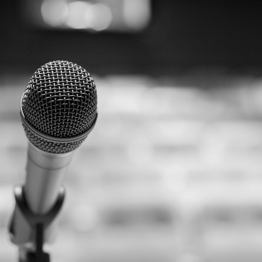 Micrófono solitario