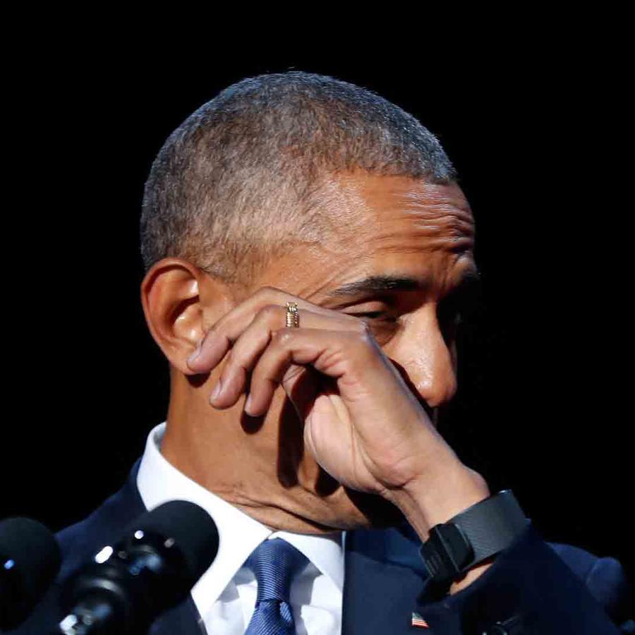 Obama se despidió con un discurso emotivo y memorable
