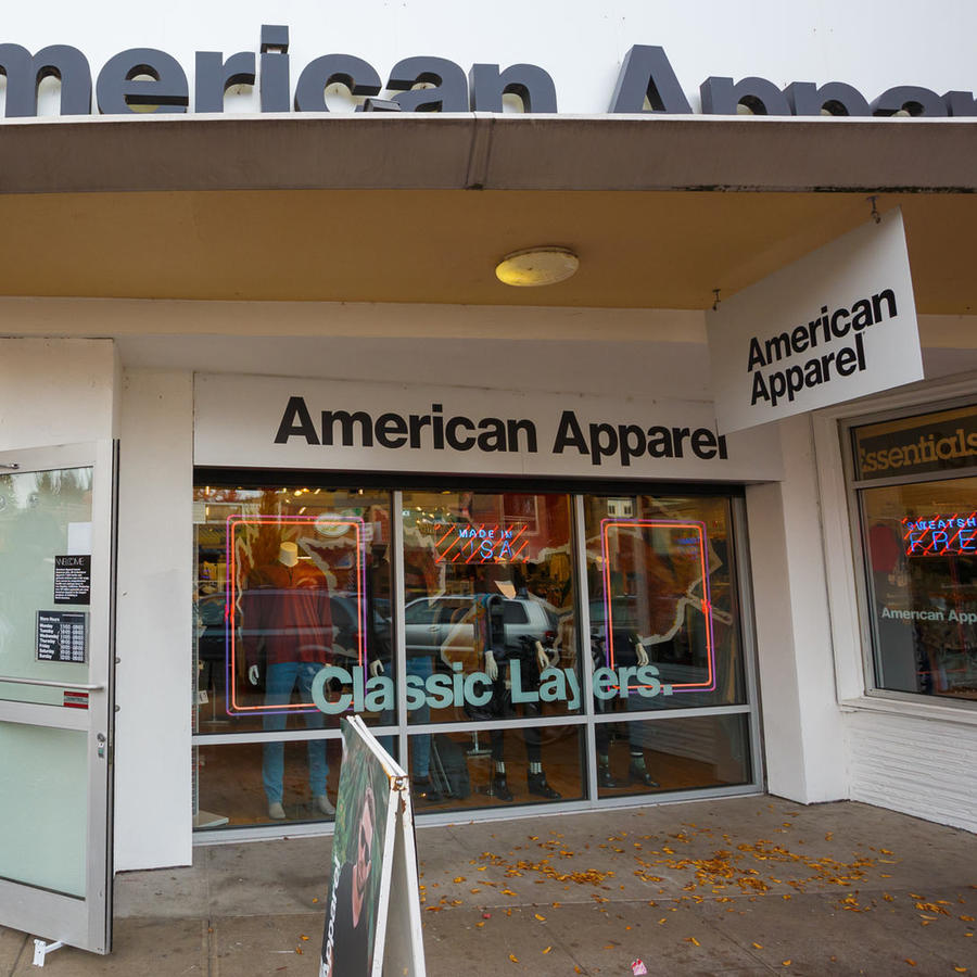 tienda american apparel