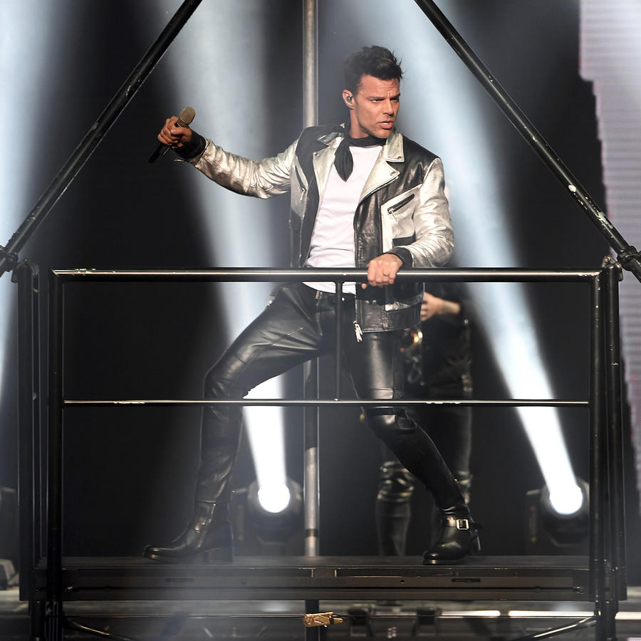 "Ricky Martin Celebrates The Opening Night of His Las Vegas Residency 'ALL IN"" At The Park Theater At The Monte Carlo Hotel and Casino"
