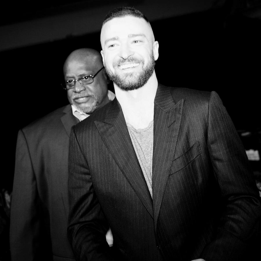 Justin Timberlake en 2017 iHeartRadio.