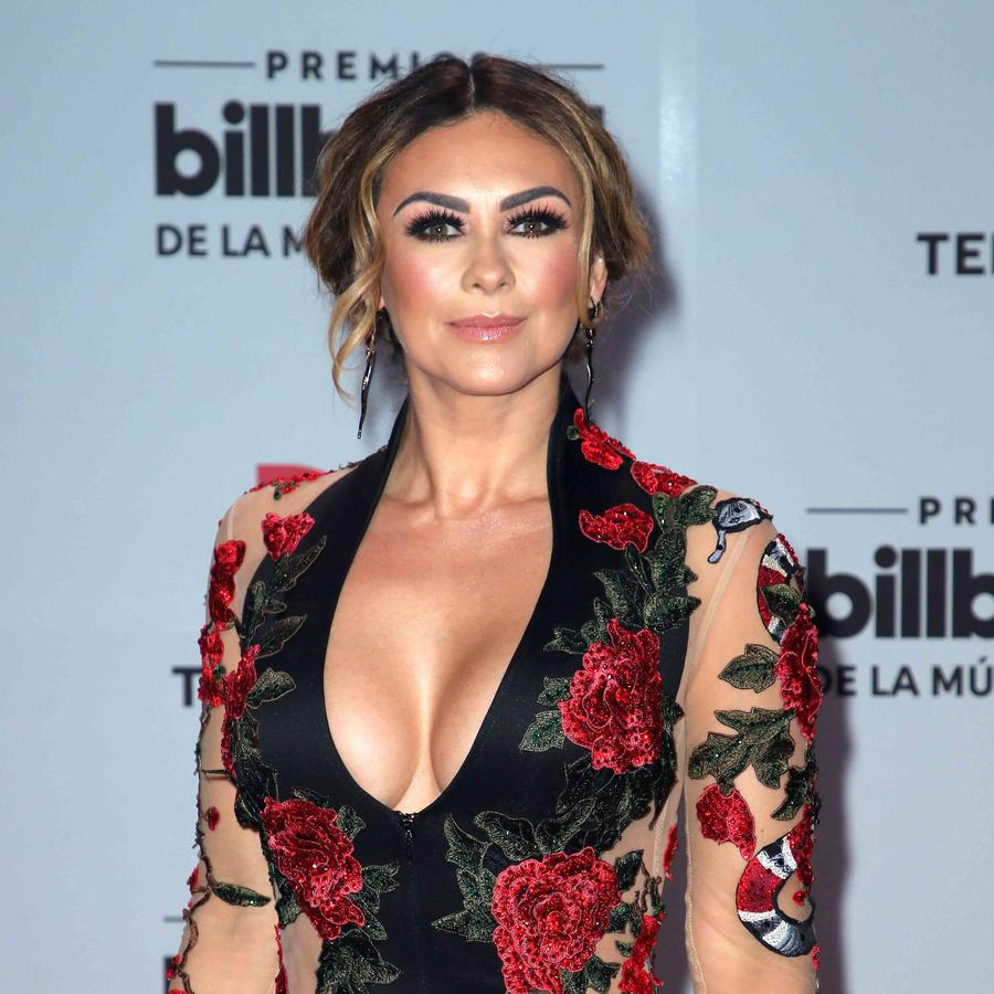Aracely Arámbula en Billboard Latin Music Awards - Arrivals