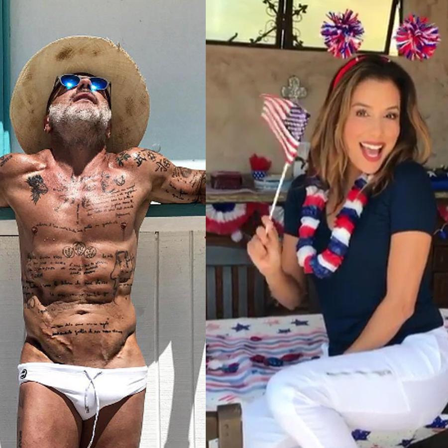 Mira cómo celebran los famosos el 4 de Julio