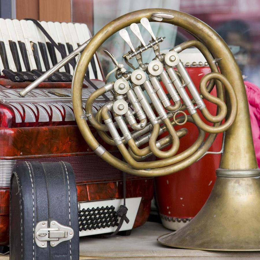 Instrumentos musicales usados