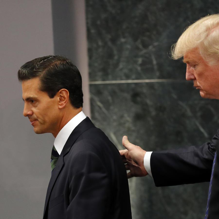 Donald Trump,Enrique Pena Nieto