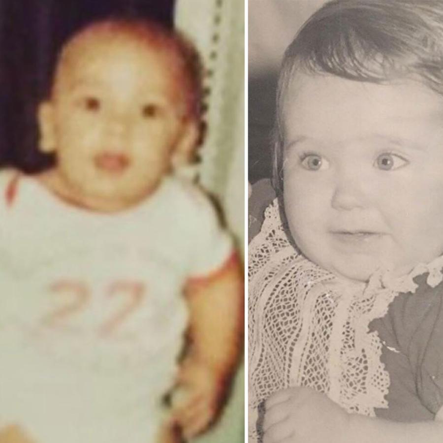 Famosos cuando eran bebés
