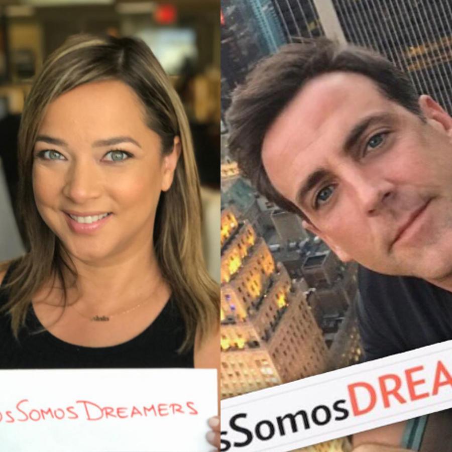"""Muchos famosos han manifestado su apoyo a los """"dreamers"""""""