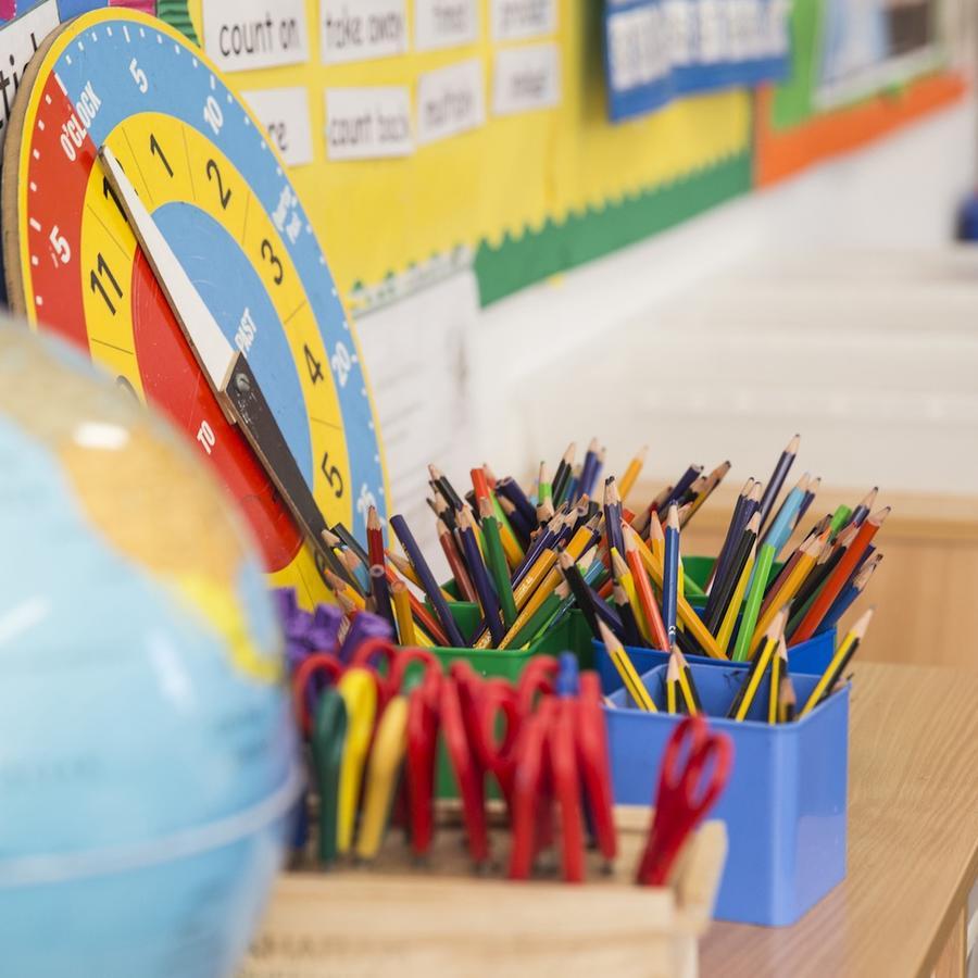 Aula de escuela primaria
