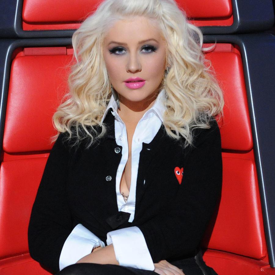 Christina Aguilera en The Voice