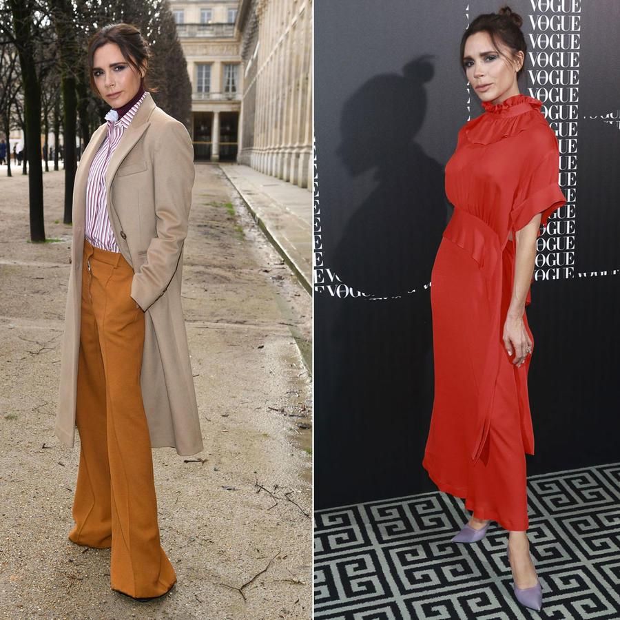 Victoria Beckham looks