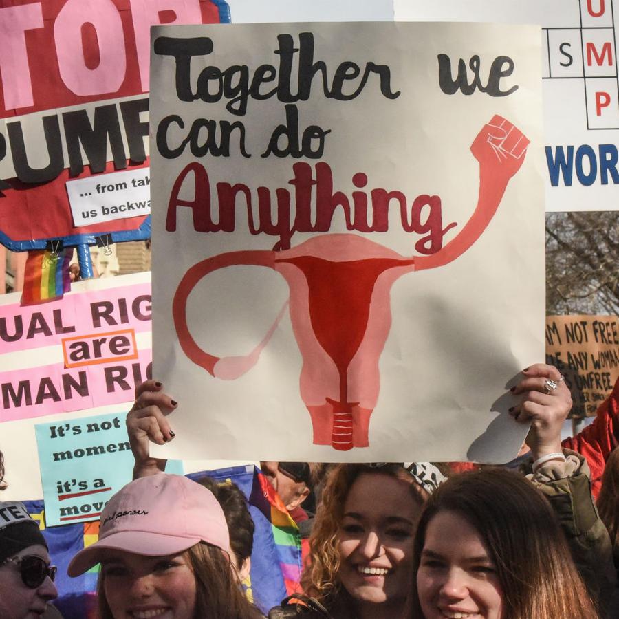 """Mujeres en la """"Women's March 2018"""""""