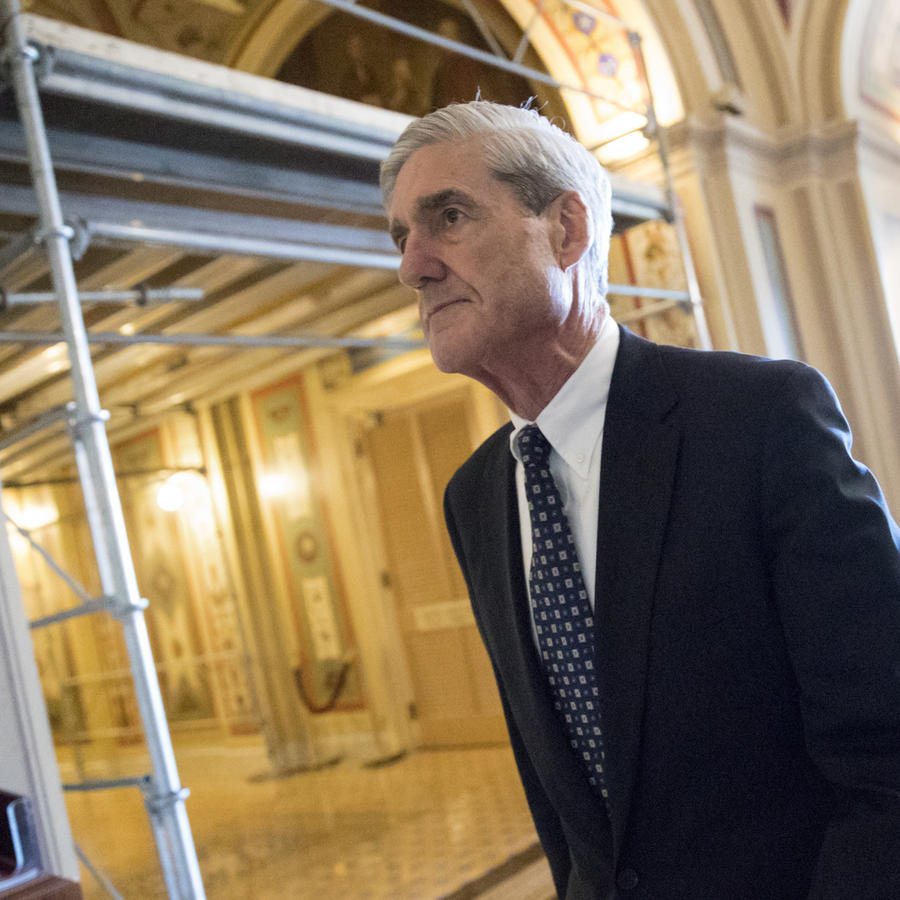El fiscal especial, Robert Mueller, encargado de la investigación sobre la trama rusa.