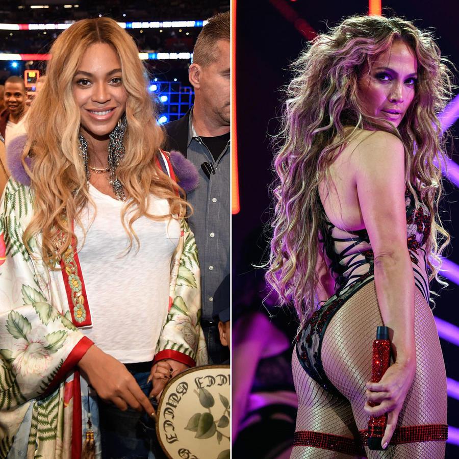 Beyoncé,Jennifer Lopez y Sofía Vergara