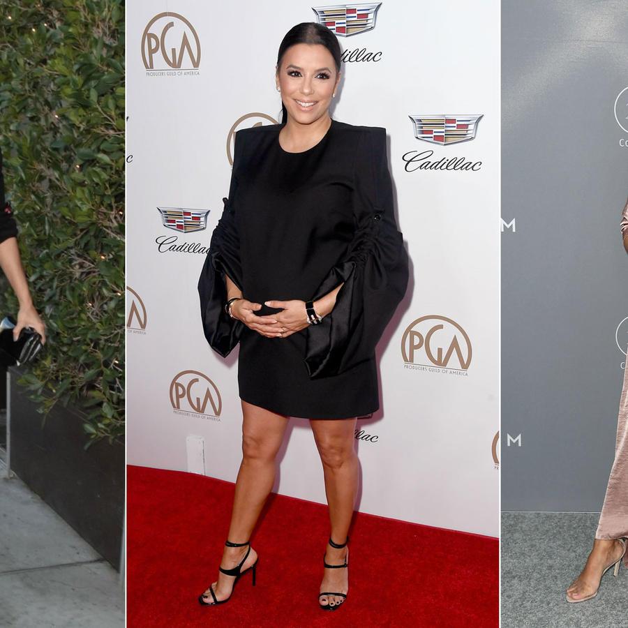 Eva Longoria looks en su embarazo